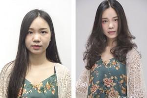 国际发型大师烫发染发示范课 | 模特魅力颜值爆爆爆