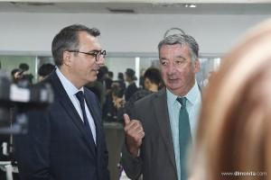 法国勒阿弗尔市市长一行到蒙妮坦参观交流