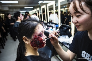 人物形象设计181化妆伤效课 | 上完一节课,一起搞个怪