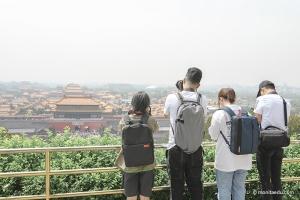 摄影班打卡北京多个地标,摄影师外拍感受不同方式的构图魅力