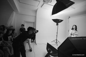 摄影课被模特秀了一波!看摄影师拍摄出来的照片
