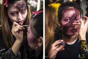 """万圣节搞事的化妆师?三个化妆教程帮你万圣节""""妆神弄鬼"""""""