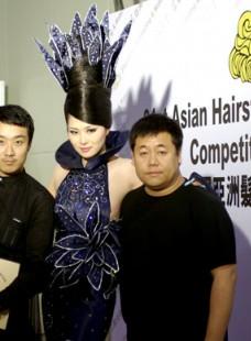 蒙妮坦学员朱明明获第三十一届亚洲发型化妆大赛晚宴化妆