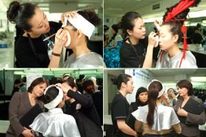 首次ITEC国际专业时装、舞台、媒体化妆师考试