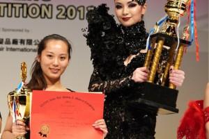 蒙妮坦学员刘玲婧获得第36届亚洲发型化妆大赛总冠军