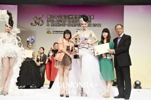第36届亚洲发型化妆大赛宁蔚娜获新娘化妆组亚军