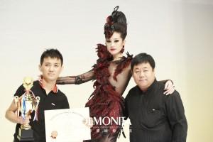 第36届亚洲发型化妆大赛韩冰获形象设计创意组亚军!
