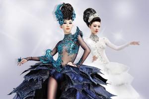学生续冕2011年亚洲发型化妆大赛冠亚军