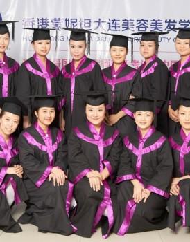 小组合影—2012年CIDESCO美容师深造培训
