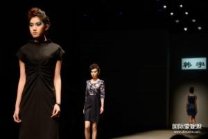 2013韩宇高级定制服装化妆实践活动