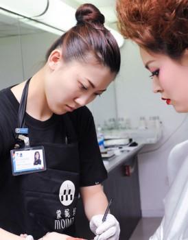 2014国际ITEC化妆培训实操考试(2)