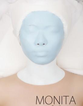 国际蒙妮坦美容学校学员实操—美容软膜