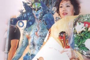 吴茜第二十四届亚洲发型发化妆大赛幻彩化妆组冠军 - 学