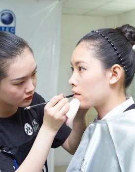 2015国际ITEC化妆培训实操考试(B组)