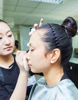 2015国际ITEC化妆培训实操考试(D组)