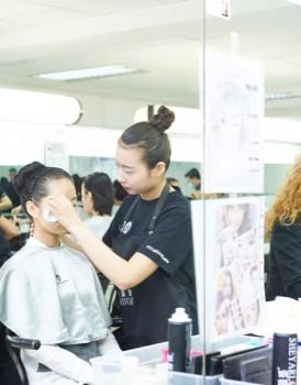 2015国际ITEC化妆培训实操考试(A组)