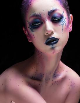 化妆学校作品-触点