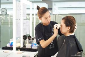 2017国际ITEC化妆培训实操考试(B组)