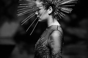 《时妆·荼蘼》形象设计毕业作品展压轴大连时装周