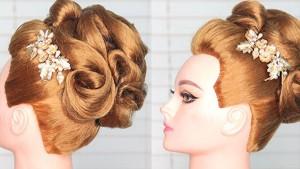 展现气质的发型-晚宴盘发技巧