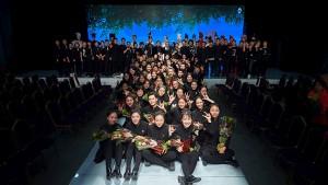 蒙妮坦形象设计大专161班为《菁春》绽放 校园生活回顾