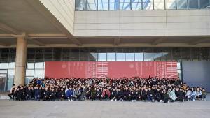 参观八大美院《千里之行》优秀毕业作品展