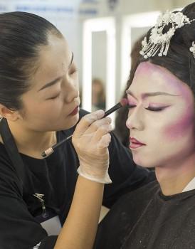 2018国际ITEC化妆培训实操考试(C组)