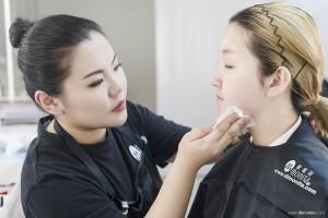 2018国际ITEC化妆培训实操考试(F组)