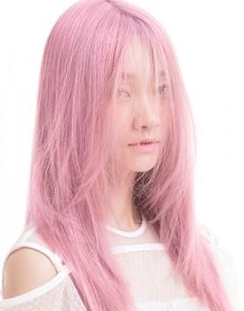 潮色玫瑰金染发造型,刘晓平老师日常新作