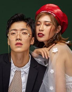 商业摄影作品—韩式情侣写真