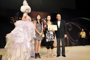 第34届亚洲发型化妆大赛新娘亚军