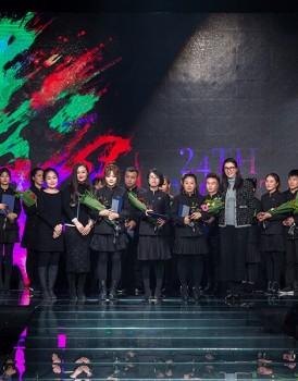 优秀大学生三等奖:齐虹燕、孙丽蕤、刘雅莉