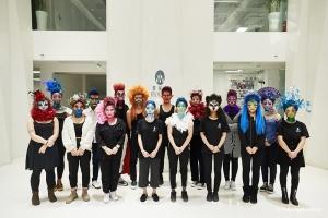 期末季 | 北京化妆精英班迎来创意妆毕业考挑战