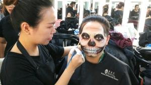 化妆师的大门从这里打开—北京蒙妮坦化妆班第三期优秀学员