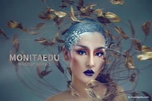 化妆课 | 创意妆示范,秋凉可见