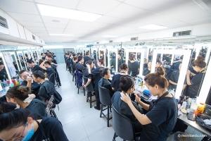 ITEC国际专业时装、舞台、媒体化妆顶级资格认证培训进行中