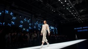 2019大连春季时装周开始,蒙妮坦化妆师最忙碌的7天