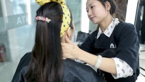北京蒙妮坦化妆学校2019第一期1901化妆班优秀毕业学员