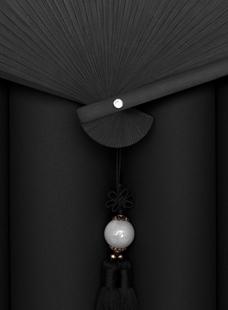 一把折扇的思考,产品摄影如何提高细节质感