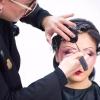 化妆造型创意玩法,化妆老师教你手推波纹完整教程