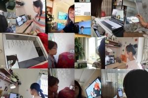 北京校区美容美发化妆摄影网课继续,学习没有暂停,美无惧距离