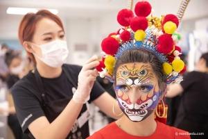 2020国际ITEC化妆培训实操考试