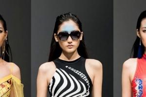 蒙妮坦妆点中国国际时装周,【凯迪龙 • 侯玲玲】泳装发布