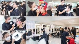 我的化妆梦 |【ITEC化妆考试】蒙妮坦55名化妆造型师获国际认可