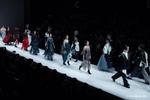 无界创未来   蒙妮坦化妆造型支持中国大学生时装周——常州纺织职业技术学院专场发布会