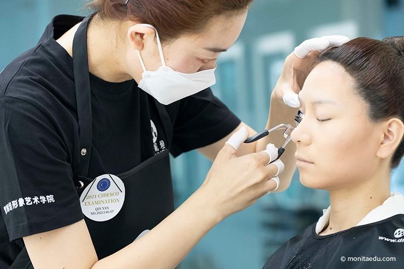 2021年国际CIDESCO国际艺术化妆文凭考试实录_BN1I8884_蒙妮坦