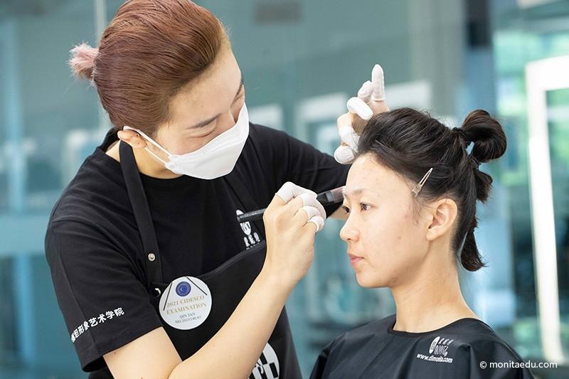 2021年国际CIDESCO国际艺术化妆文凭考试实录_BN1I8836_蒙妮坦