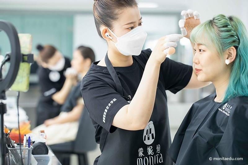 2021年国际CIDESCO国际艺术化妆文凭考试实录_BN1I9147_蒙妮坦