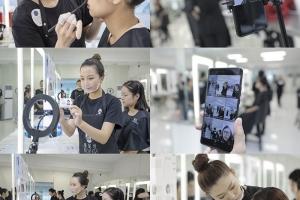蒙妮坦北京校区CIDESCO媒体化妆文凭考试圆满收官